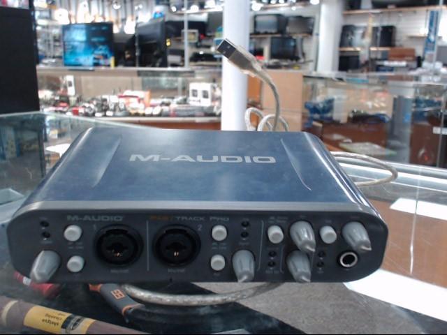 M AUDIO Computer Recording FAST TRACK PRO