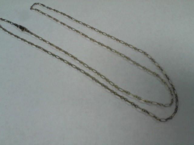 Silver Figaro Chain 925 Silver 6.5g