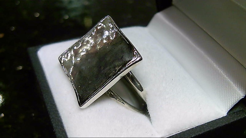 Silpada Square Lady's Silver Ring 925 Size 7.75