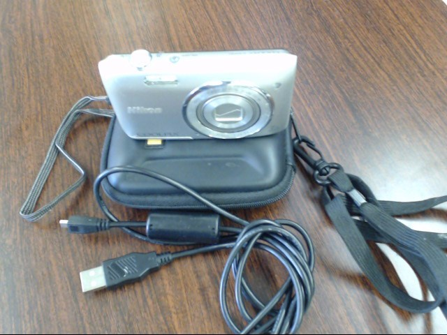 NIKON Digital Camera COOLPIX S3500 20.1MP