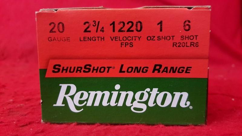 REMINGTON FIREARMS Ammunition 20 GAUGE AMMO