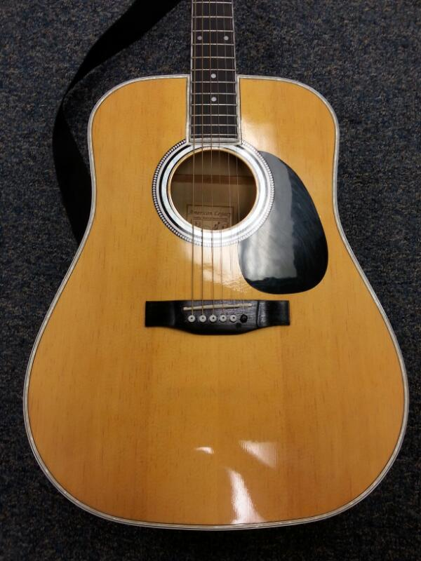 L@@K!!! AMERICAN LEGACY Electric-Acoustic Guitar AL-100