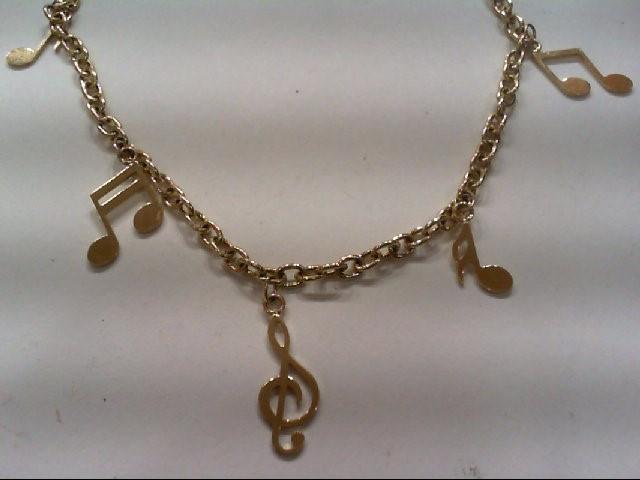 Gold Fashion Bracelet 14K Yellow Gold 3.8g
