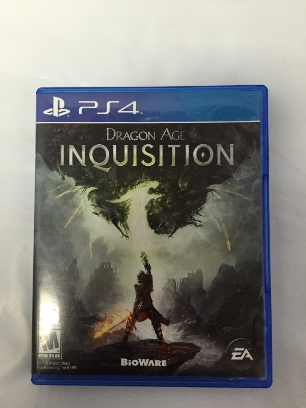 SONY PLAYSTATION 4 DRAGON AGE INQUISITION PS4