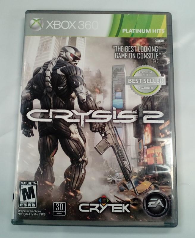 MICROSOFT XBOX 360 GAME CRYSIS 2