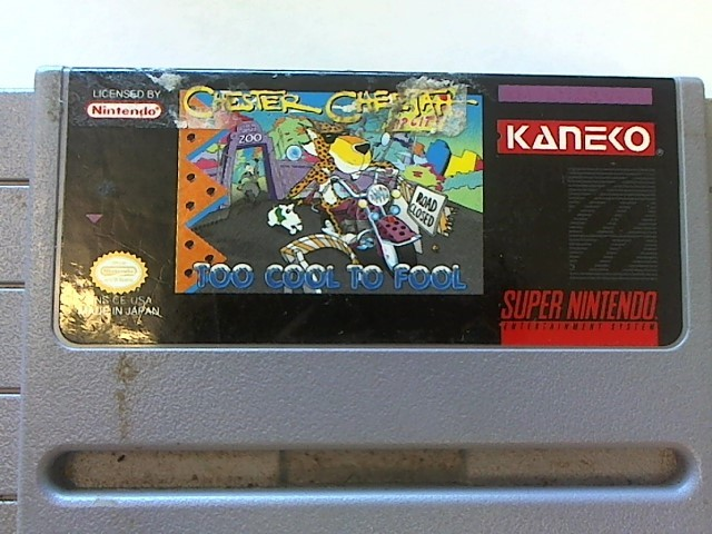 SUPER NINTENDO CHESTER CHEETAH