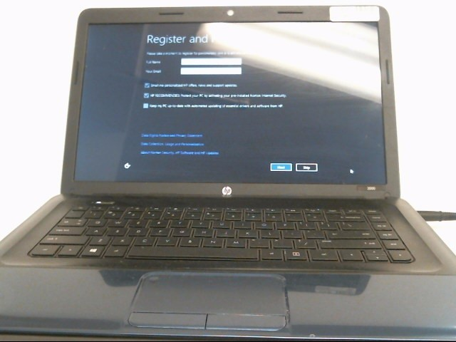 HEWLETT PACKARD Laptop/Netbook 2000-2B19MW