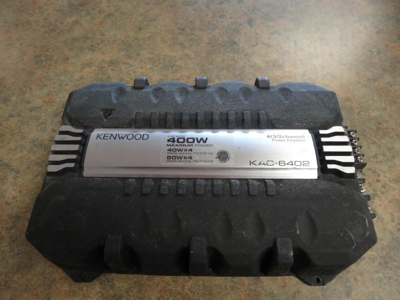 KENWOOD Car Amplifier KAC-6402