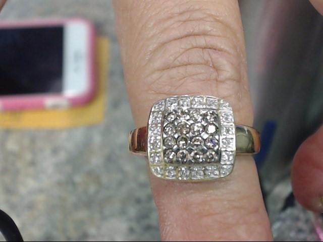 Lady's Diamond Fashion Ring 36 Diamonds 1.80 Carat T.W. 14K Yellow Gold 4.05dwt