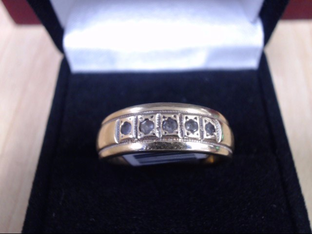 Gent's Gold Ring 10K Yellow Gold 5.6g
