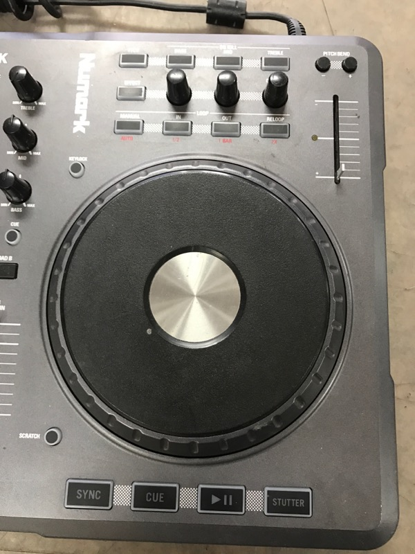 NUMARK ELECTRONICS DJ Equipment MIXTRACK