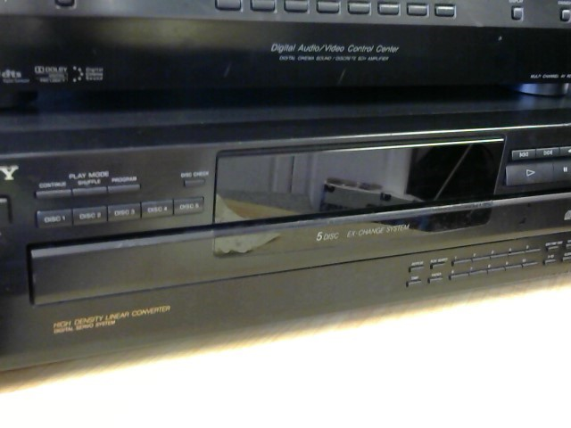 SONY CD Player & Recorder CDP-C265