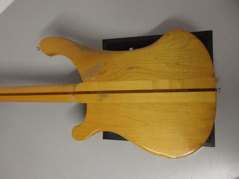1974 RICKENBACKER 4001 BASS GUITAR, MAPLEGLO