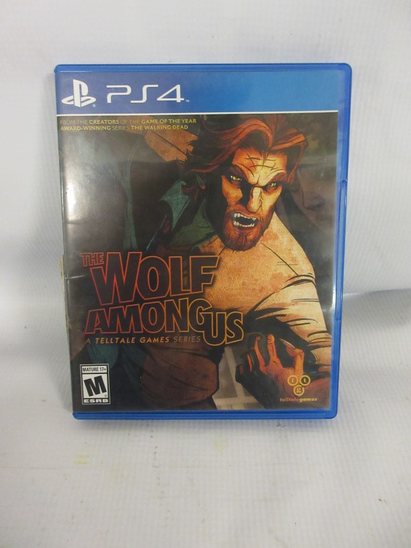 The Wolf Among Us, PS4