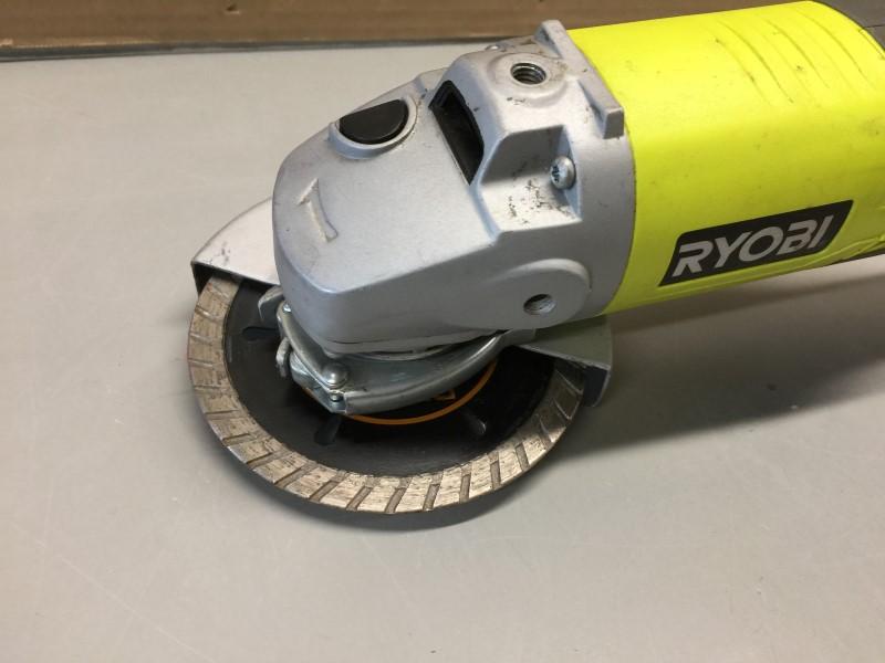 "RYOBI P4221 18-Volt One+ 4-1/2"" Cordless Disc Grinder"