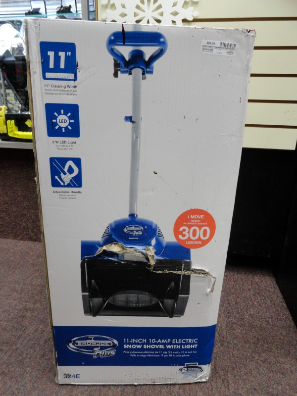 "Snow Joe Plus 11"" 10-Amp Electric Snow Shovel w/ Light"