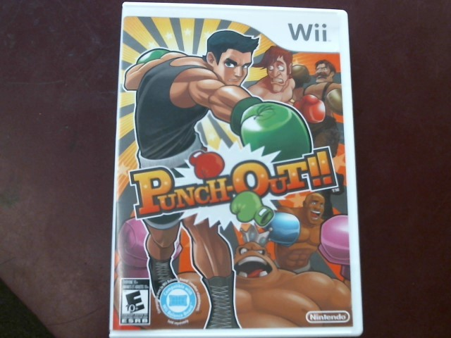 WII PUNCH-OUT!! with Manual