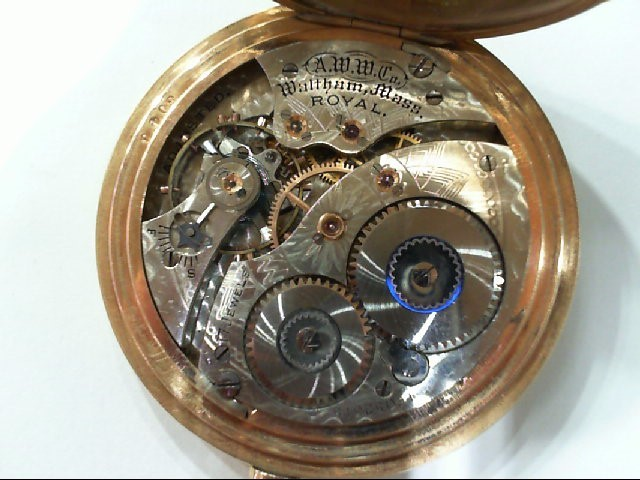WALTHAM Pocket Watch ROYAL