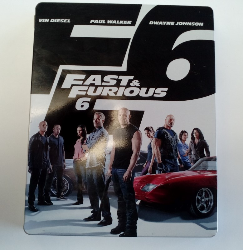 FAST AND FURIOUS 6, ACTION BLU-RAY MOVIE STARRING VIN DIESEL