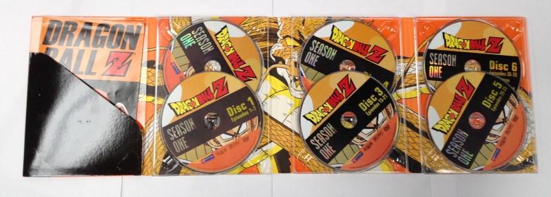 DVD BOX SET DRAGON BALL Z SEASON ONE