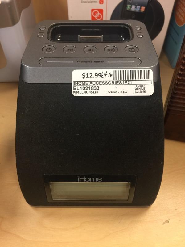 IHOME IPOD/MP3 Accessory IP21