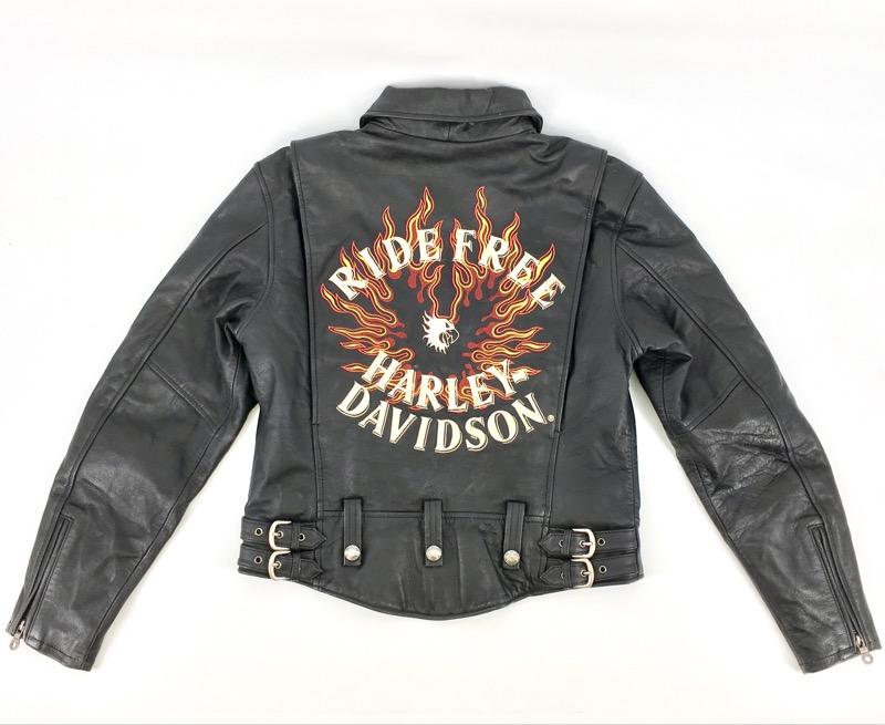 "Harley Davidson ""Ride Free"" Leather Jacket (M)"
