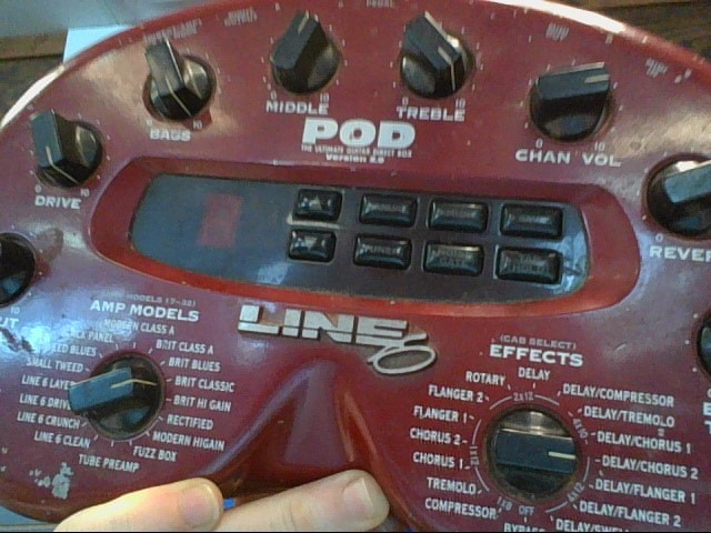 LINE 6 Effect Equipment POD 2.0