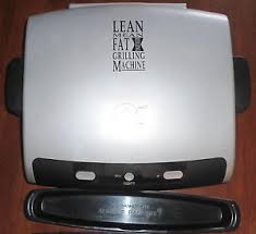 GEORGE FOREMAN Miscellaneous Appliances LEAN MEAN GRILLIN MACHINE