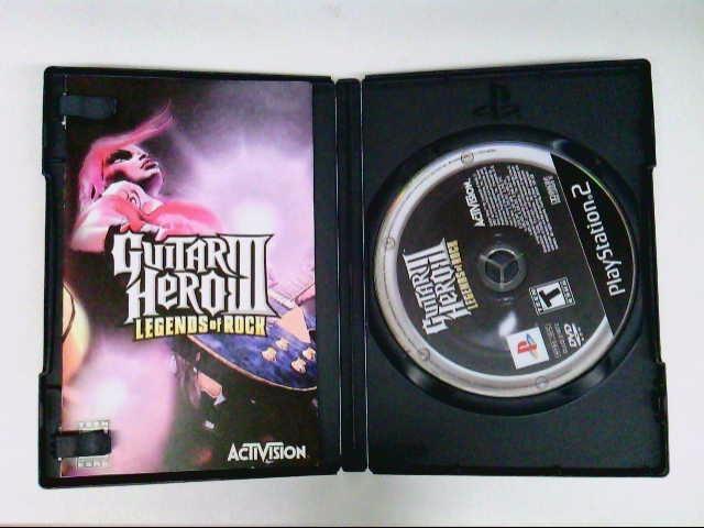SONY PS2 GUITAR HERO 3