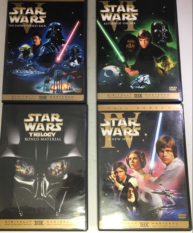 DVD STAR WARS TRILOGY (2004)
