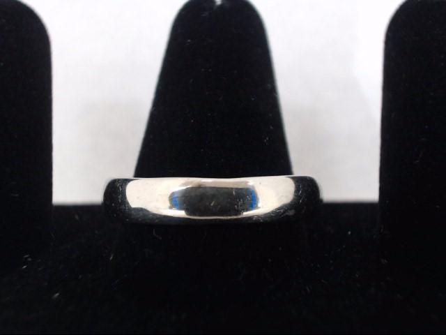 Gent's Gold Ring 14K White Gold 4.6g