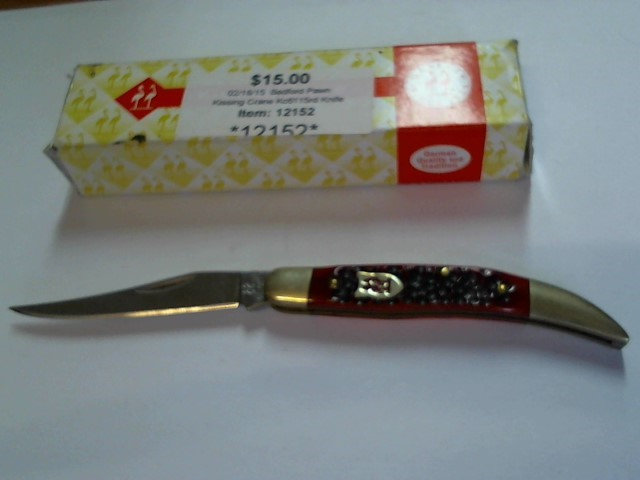 KISSING CRANE Pocket Knife KC6115RD