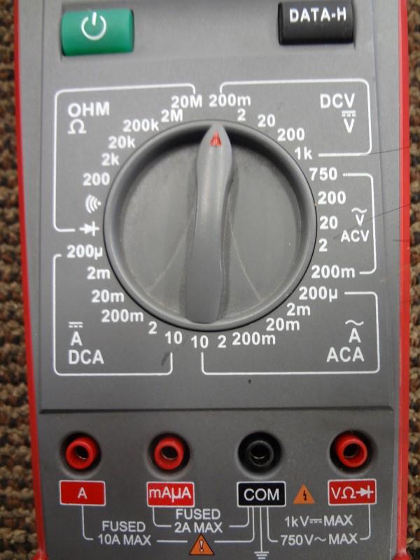 SNAP ON MULTIMETER EEDM503D