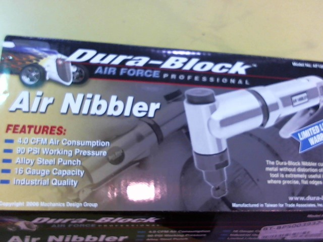 DURA BLOCK Air Chisel AIR NIBBLER