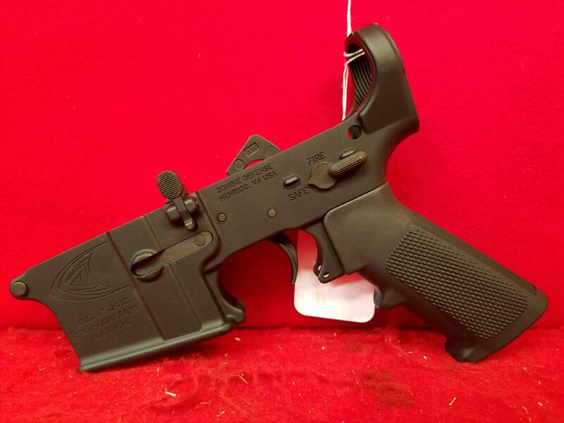 Boomer Shooter Partially Complete AR Lower Receiver