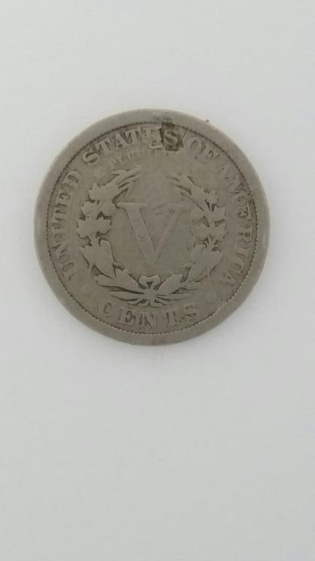 UNITED STATES COIN 1911 LIBERTY HEAD V NICKEL