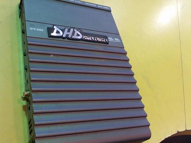 DHD CAR AMPS Car Amplifier NTX-2005