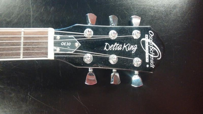 WASHBURN Electric Guitar OSCAR SCHMIDT DELTA KING OE30
