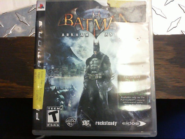 SONY PS3 GAME - BATMAN ARKHAM ASYLUM