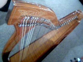 ROOSEBECK Harp/Dulcimer MEGHAN HARP 36-STRING