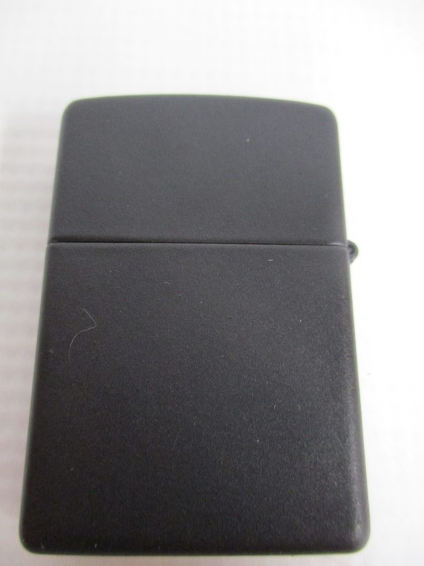 ZIPPO LIGHTER 8 BALL - USED