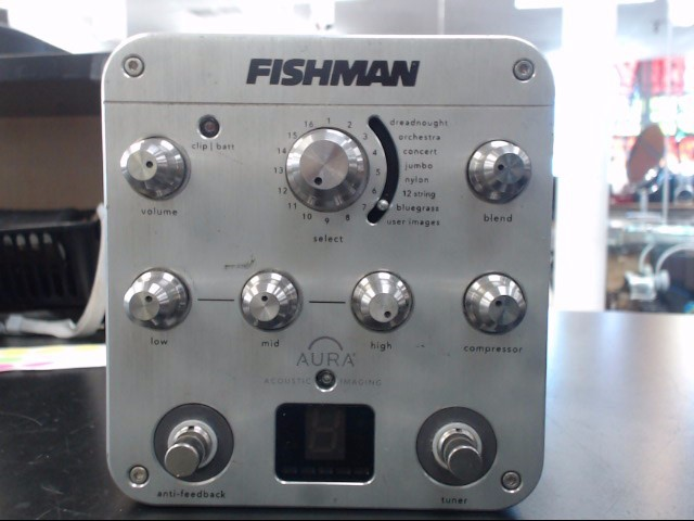 AURA SOUND Effect Equipment SPECTRUM D1 FISHMAN