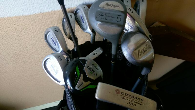 MACGREGOR Fairway - Hybrid TOURNEY TITANIUM WOOD