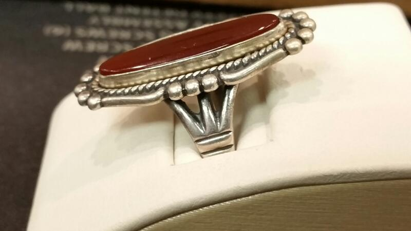 Lady's Silver Ring 925 Silver 4.7dwt Size:6.5