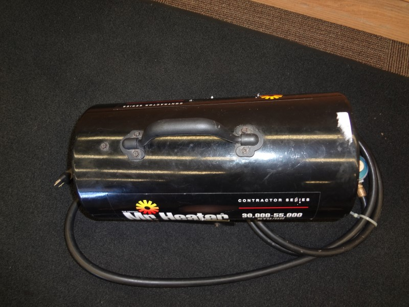 MR HEATER FORCED AIR PROPANE HEATER 30,000-55,000 BTU/HR