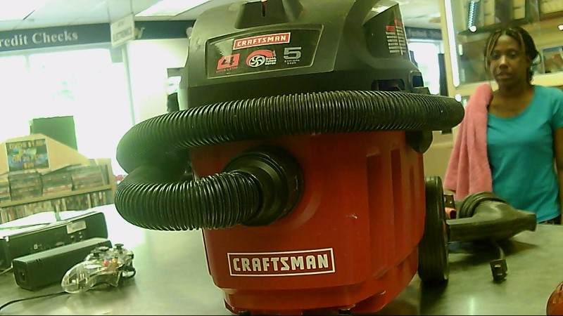 CRAFTSMAN SHOP-VAC 5HP 4-GALLON 7A 125.12002
