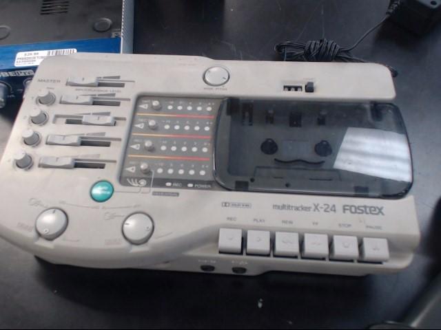 FOSTEX X-24 MULTITRACKER