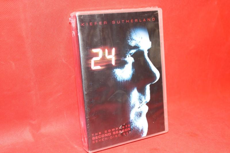 24: Season 2 (Slim Pack), Excellent DVD, Jude Ciccolella, Sarah Clarke, Penny Jo