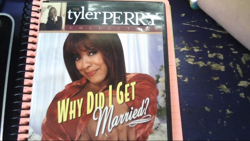 TYLER PERRY WHY DID I GET MARRIED? DVD MOVIE