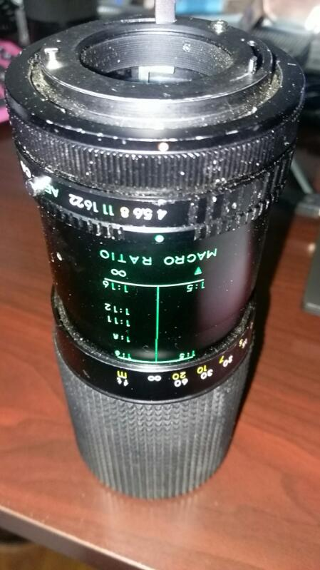 SEARS Lens/Filter MULTICOATED 200MM LENS